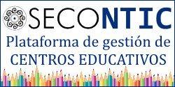 SECONTIC - Plataforma de gestión de centros educativos