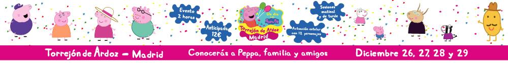 CREATIVOS EDUCATIVOS - Un día con Peppa Pig en Torrejón de Ardoz