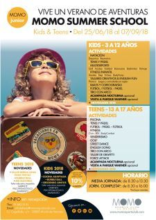 momo camapmento summer school 2018 cartel 225