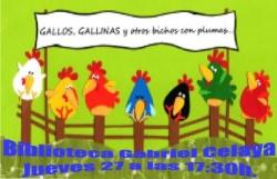 Gallos, gallinas y otros bichos con plumas
